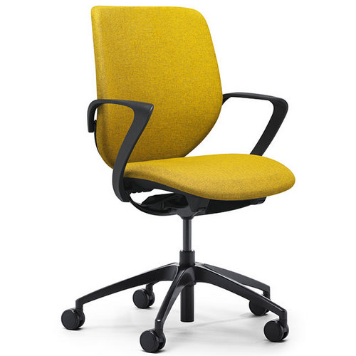 High quality new model fabric back office chairs staff swivel chairs office furniture -1