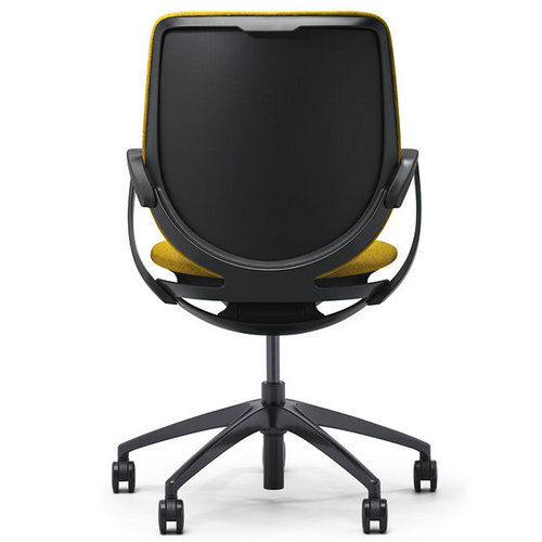 High quality new model fabric back office chairs staff swivel chairs office furniture -2