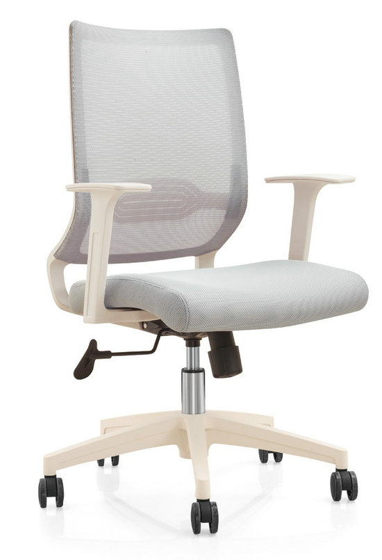 Modern Design Mesh Adjustable Mechanism Office Workers Chair Staff Computer Armchair -2