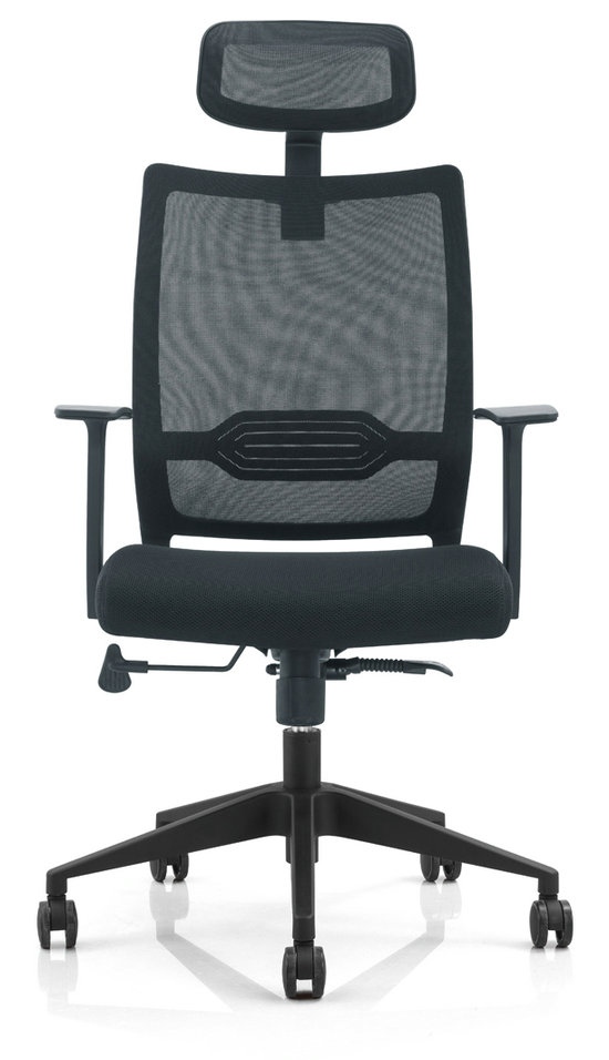 Modern Design Mesh Adjustable Mechanism Office Workers Chair Staff Computer Armchair -3