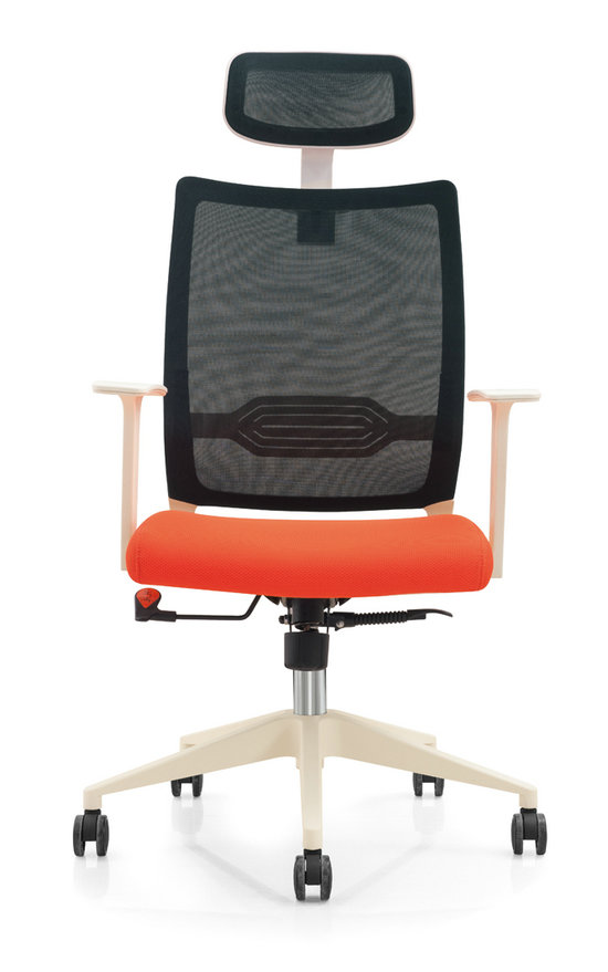 Modern Design Mesh Adjustable Mechanism Office Workers Chair Staff Computer Armchair -4