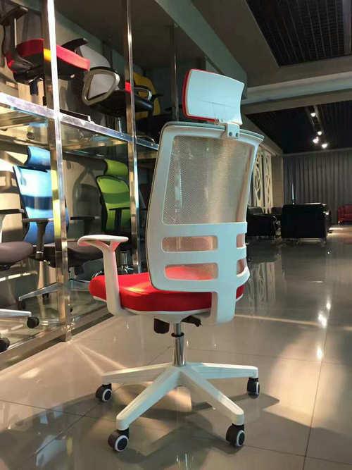 Modern ergonomic swivel white staff office furniture task chairs armchair -2