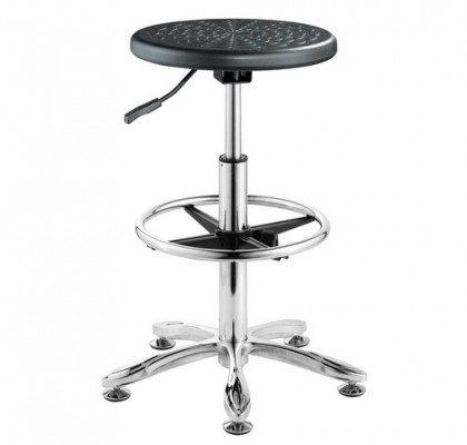 Wholesale Height Adjustable Lab Chair Chair With Foot Rest Customized School laboratory Room Seat