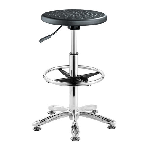Wholesale Height Adjustable Lab Chair Chair With Foot Rest -1