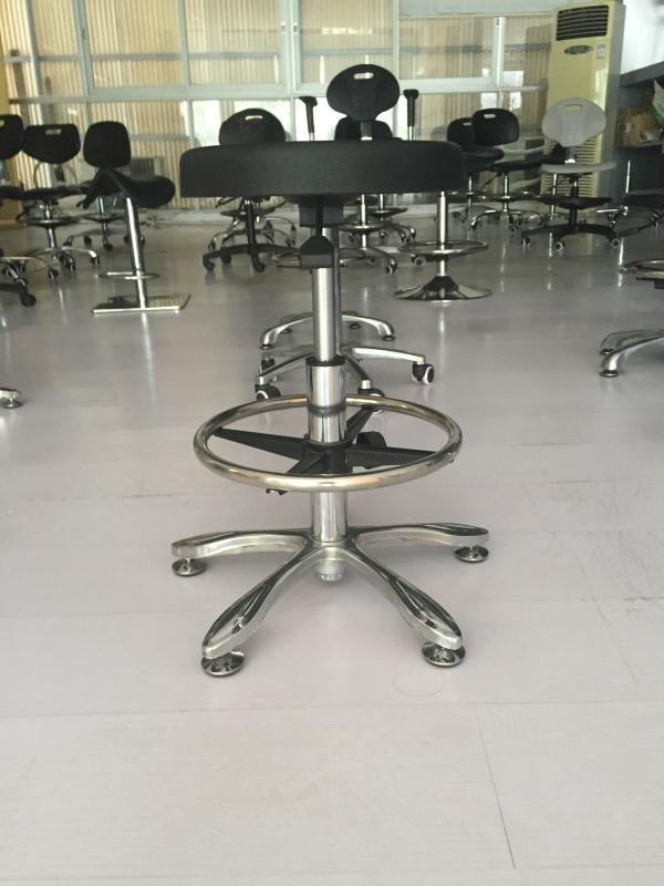 Wholesale Height Adjustable Lab Chair Chair With Foot Rest -2