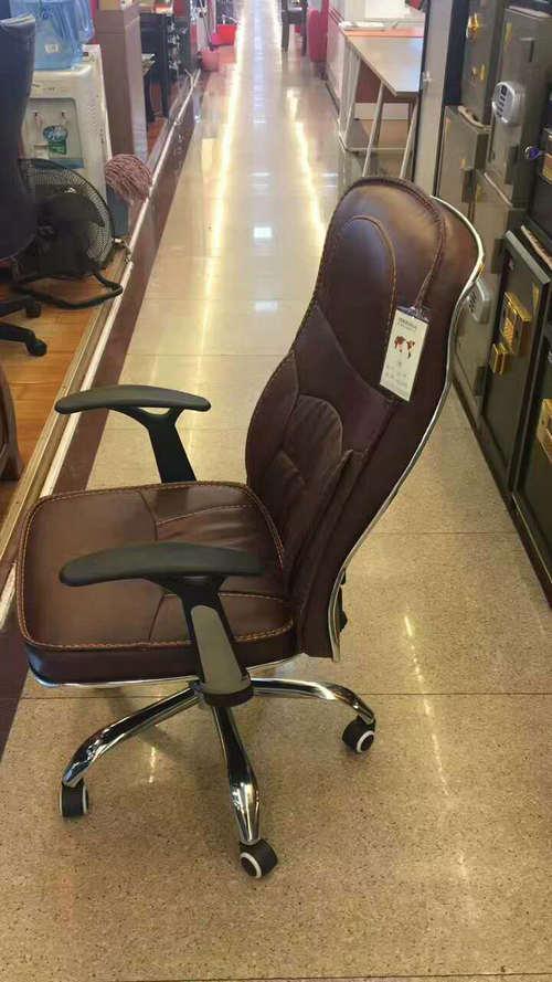 cheap executive office chair with armrest office chair chrome base office swivel chair -2