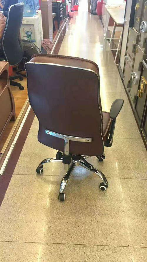 cheap executive office chair with armrest office chair chrome base office swivel chair -3