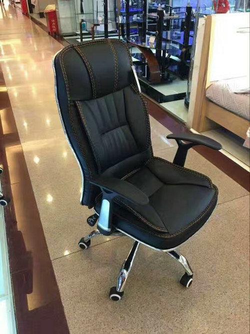 cheap executive office chair with armrest office chair chrome base office swivel chair -4