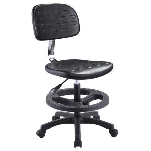 comfortable height adjustable stool ergonomic school lab chair laboratory seating -1