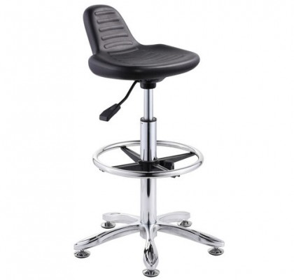 durable school laboratory computer lab chairs operator stool cashier chair no wheels