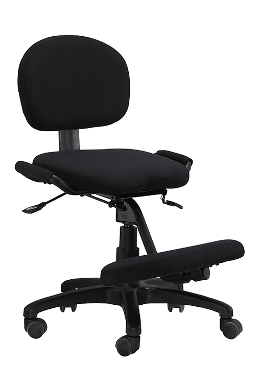 ergonomic kneeling chairs height adjustable office staff computer stools -1