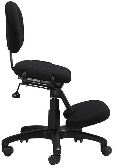 ergonomic kneeling chairs height adjustable office staff computer stools -2