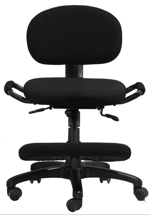 ergonomic kneeling chairs height adjustable office staff computer stools -3
