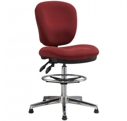 fabric office drafting chair height adjustable operator chair counter cashier computer chair