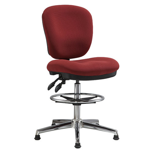 office drafting chair. Fabric Office Drafting Chair Height Adjustable Operator Counter Cashier Computer