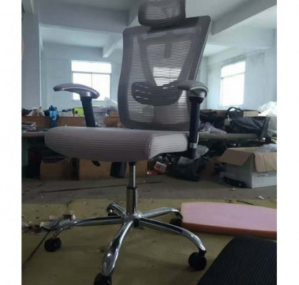 high back ergonomic staff office computer seating mesh operate chair with lumbar support