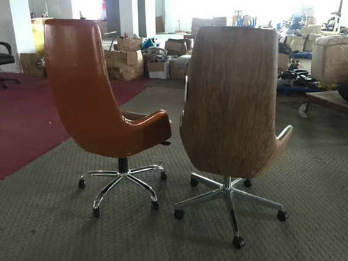 China factory high back genuine leather executive office chair big and tall manager seating -4
