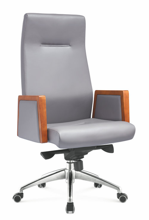Made In China genuine leather swivel executive manager office chair heavy duty office seating -1
