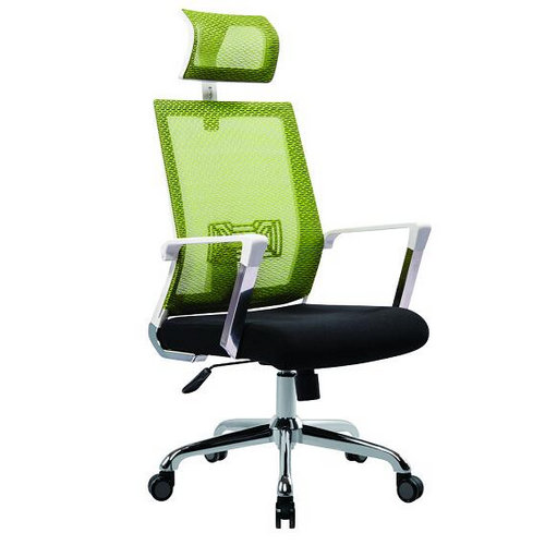 high back full mesh back swivel lift ergonomic office chair lumbar support computer chair -1