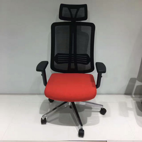 Ergonomic Cheap Office Mesh Computer Chair Staff Chair with Adjustable Plastic Armrest