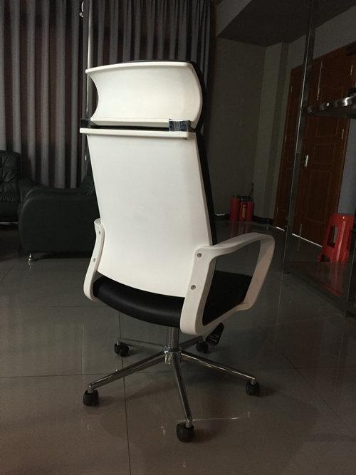Ergonomic High-Back Gaming Chair PU Leather Bucket Seat Computer Swivel Lumbar Support -2