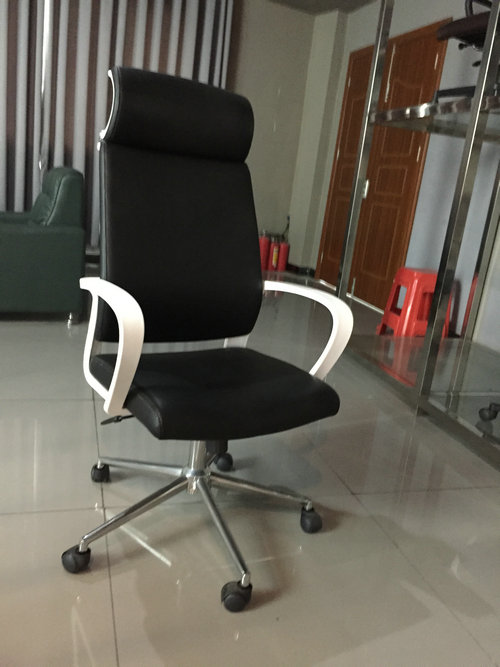 Ergonomic High-Back Gaming Chair PU Leather Bucket Seat Computer Swivel Lumbar Support -3