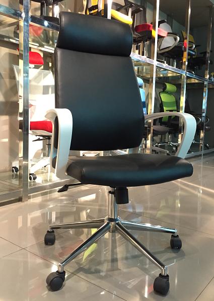 Ergonomic High-Back Gaming Chair PU Leather Bucket Seat Computer Swivel Lumbar Support -4