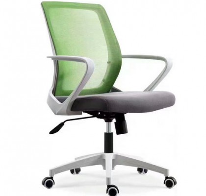 Guangzhou Furniture Mesh Fabric Staff Swivel Working Chair Competitive Tilt Computer Chair for sale