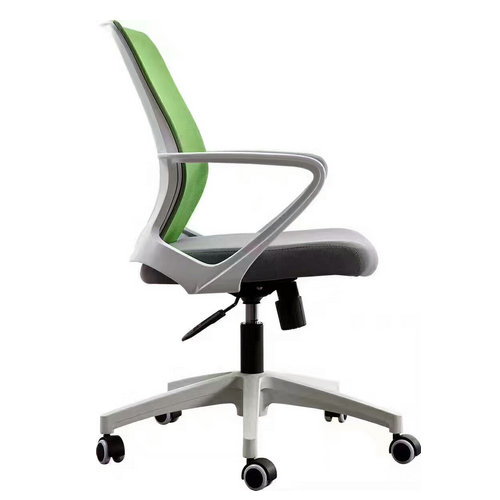 Foshan Furniture Mesh Fabric Staff Swivel Working Chair Competitive Tilt Computer Chair for sale -2