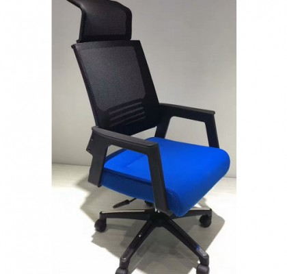 Foshan furniture factory high back nylon frame office chair with wheels for project