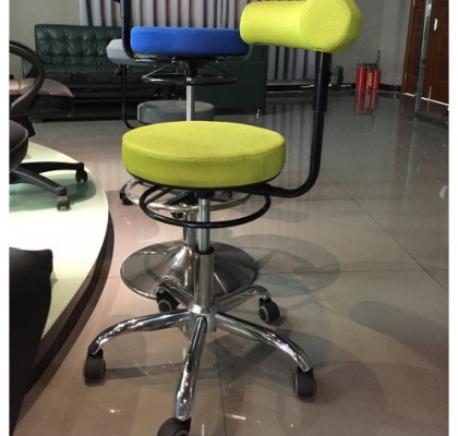 China Hot Sales Swivel Counter Chair Wholesale Cashier Chair Operator Stool with Adjustable Height