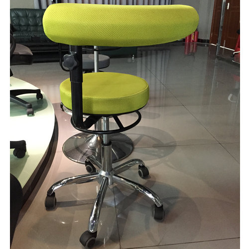 Hot Sales Swivel Counter Chair Wholesale Cashier Chair Operator Stool with Adjustable Height -2