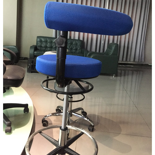 Hot Sales Swivel Counter Chair Wholesale Cashier Chair Operator Stool with Adjustable Height -3