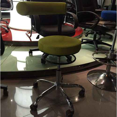 Hot Sales Swivel Counter Chair Wholesale Cashier Chair Operator Stool with Adjustable Height -4