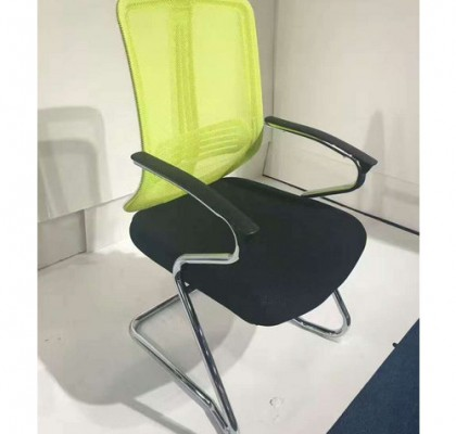 China manufacturer Office Furniture Metal Frame Meeting Room Chair Staff Mesh Armchair