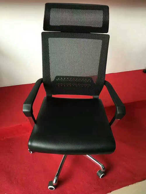 Top Sale Adjustable Ergonomic High Back Lumbar Support Mesh Office Chair With Headrest -1