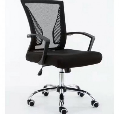 Good quality breathable medium back office revolving staff task chairs mesh clerk computer seats