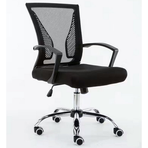 medium back office revolving staff task chairs mesh clerk computer chair -1