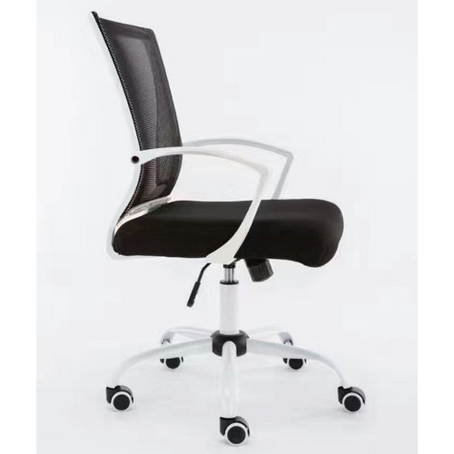 medium back office revolving staff task chairs mesh clerk computer chair -2