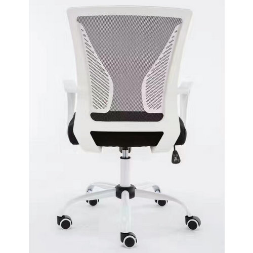 medium back office revolving staff task chairs mesh clerk computer chair -3