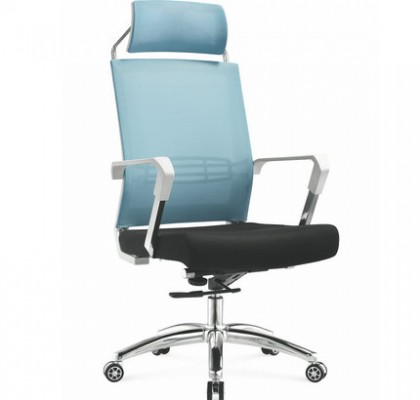 Foshan manufacturer high back full manager mesh office computer chair operator chair with headrest