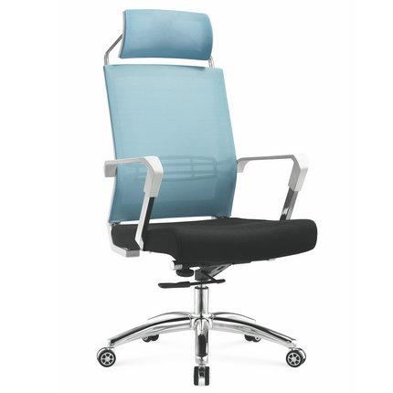 Foshan manufacturer high back full staff mesh office computer chair with headrest -1
