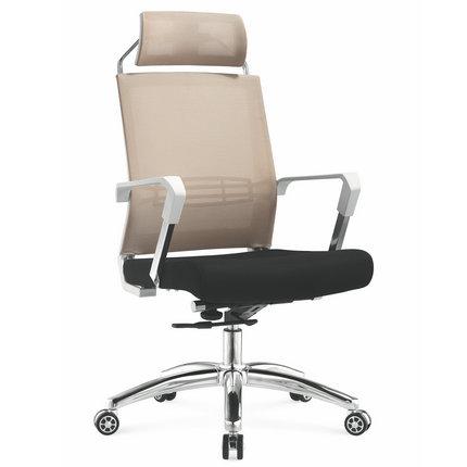 Foshan manufacturer high back full staff mesh office computer chair with headrest -2