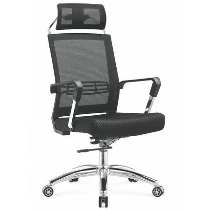 Foshan manufacturer high back full staff mesh office computer chair with headrest -3