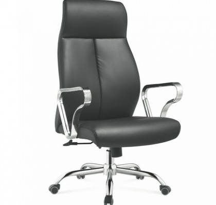 commercial furniture foshan china executive black genuine leather office chair manager seating