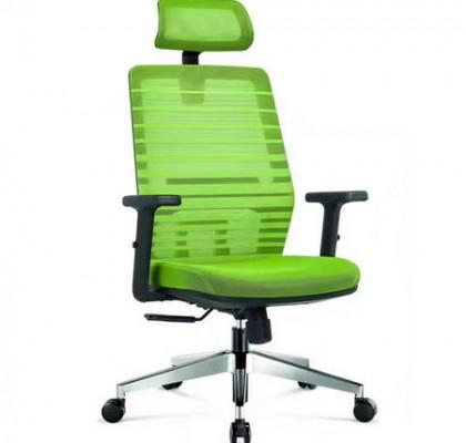 Purchase Office Mechanism High Back Gas Lift Swivel Green Mesh Chair