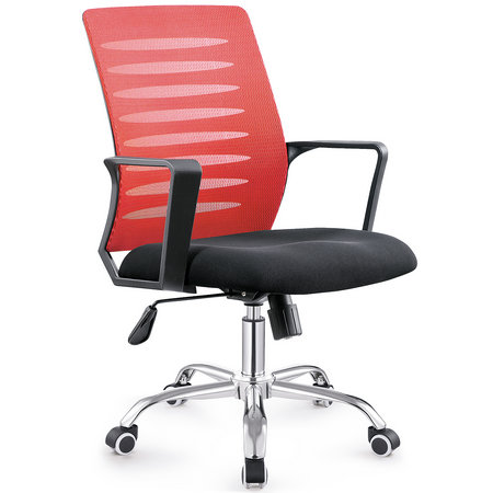 China Manual work best office chair under 200 fashionable fabric popular staff computer seating -1