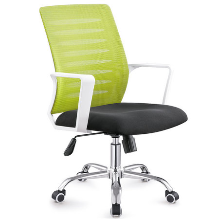 China Manual work best office chair under 200 fashionable fabric popular staff computer seating -2