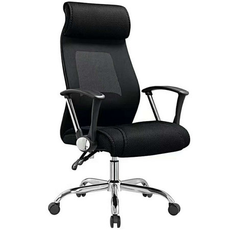 China furniture manufacturer high back office computer armchair movement mesh seats -3