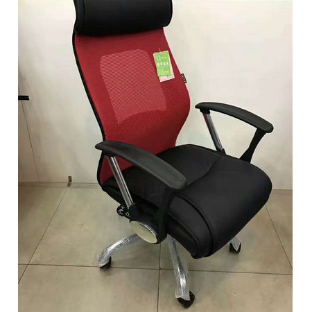 China furniture manufacturer high back office computer armchair movement mesh seats -6